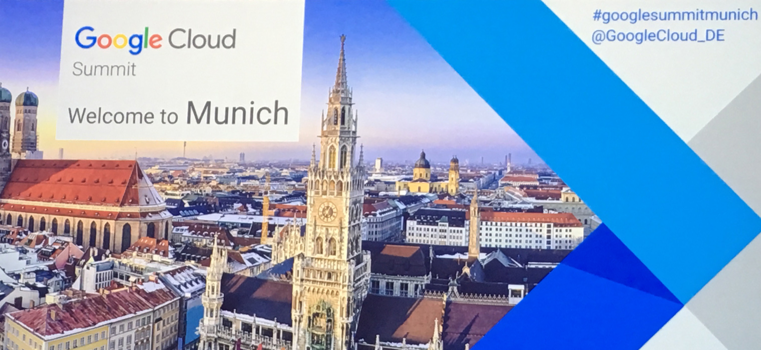 Google Cloud Summit in Munich 2017